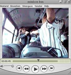músicos bus